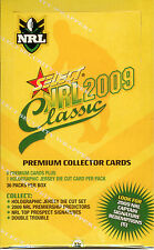 2009 Select NRL Classic Trading Card Factory Case (16 Boxes + Case Card)--Rare