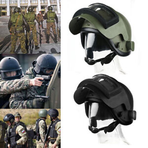 K6-3 Helmet Replica with Olive Steel Vizor For Special Units Russian Army