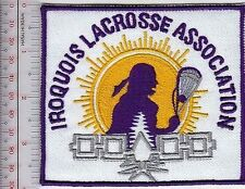 Lacrosse American Indian USA & First Nation Canada Iroquois Lacrosse Association