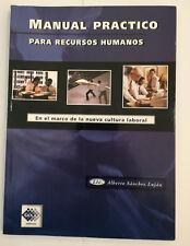 MANUAL PRACTICO PARA RECURSOS HUMANOS - Alberto Sanchez Lujan