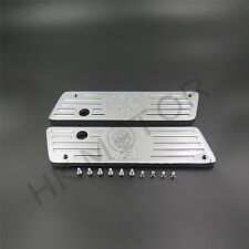 Chrome Contrast Deep Cut Saddlebag Latches Cover For Harley Touring 1993-2013 FL