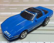 para H0 coche slot racing Maqueta de tren Corvette zr-1 con TYCO CHASIS