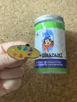 Painters Art Palette Ink And Paint Mystery Series 1 Disney Pin
