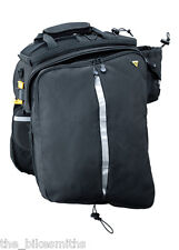 Topeak TT9647B MTX EXP Trunk Bag w/ Folding Panniers Quick Track Bottle Holder