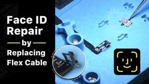 iPhone X/XR/XS/XS Max Face ID/Dot Projector Move Higher Lower Repair Service