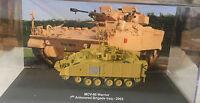 """DIE CAST TANK """" MCV-80 WARRIOR 7th ARMOURED BRIGADE IRAQ - 2003 """" 1/72"""