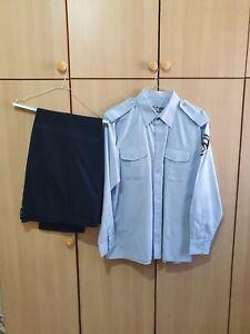 Original Israeli Policemen Uniform - Long Sleeve Shirt + Pants