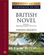 The Facts on File Companion to the British Novel (The Facts on File Co-ExLibrary