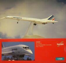 Herpa Wings 1:500 Concorde Air France F-Bvfc 532839 + Pantalla Modellairport500