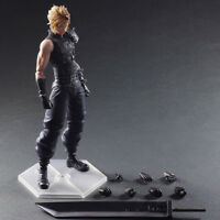 Play Arts Final Fantasy VII Manufacturing Cloud Strife PVC Action Figure New Box