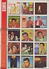 Elvis Presley Fridge Magnets. Official Set of 15 LP Covers. Mint.