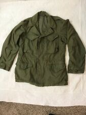 WW2 U.S. Army M-1943 Field Coat, M-43 Jacket, Size 34S Very Good 1945
