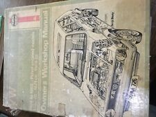 VW Golf, Jetta, Scirocco 1974-1982 Petrol Engine Models Owners Workshop Manual