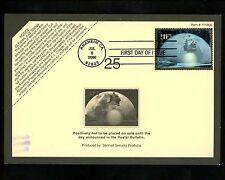 US FDC #3413 Devlin Cachet USPS Almohadilla Aterrizaje en Luna Espacio 7/8/2000