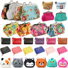 Womens Wallet Key Card Holder Case Small Change Coin Purse Clutch Handbag Bag