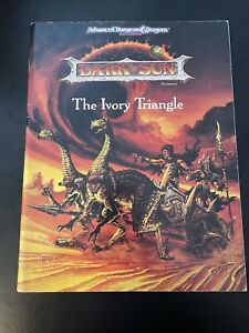 DARK SUN - The Ivory Triangle #1901 - TSR AD&D Advanced Dungeons & Dragons - RPG