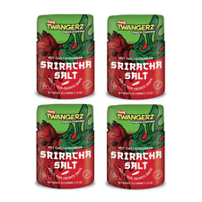 Twang Twangerz Snack Topping Sriracha Hot Chili Salt - 4pk
