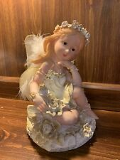 Fairy Angel Figurine Statue Resin Decorative - 8.5�Tall / Mythical Fantasy Magic