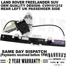 LAND ROVER FREELANDER 1 REAR LEFT SIDE WINDOW REGULATOR & 2 PIN MOTOR CVH101212