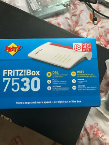 Fritzbox 7530 VDSL/ADSL Modem/Router/WiFi with printer/NAS/DECT capability
