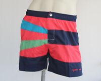 Pantaloncino Short Mare Uomo AQABA S M L XL XXL alta qualità made in Italy nuovo