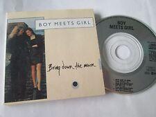Boy Meets Girl – Bring Down The Moon Label: RCA – PD 49493 UK Mini 3 inch disc