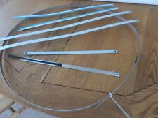 BUMPER TRIM SAAB 900 classic STAINLESS - full kit  SLOPE NOSE CAR