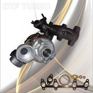 Turbocompressore VW TOURAN GOLF V 1.9 TDI 77KW 105PS BJB/BKC/BXE/BRU /BXF/BXJ