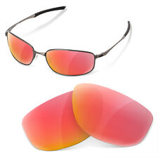 Polarized Replacement Lenses for Oakley taper ruby red color