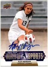 Alex Morgan - 2011 Upper Deck World of Sports Autographs #393 Rookie Card Usa Rc