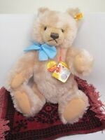 "Steiff Vtg 1980s Teddy Bear 0201/41 Signed Margaret TAGS New 14"" Growler NWT"