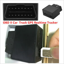 GPS MINI 16PIN OBDII Car Vehicle Truck OBD2 Realtime Tracker Mini Tracking GPRS