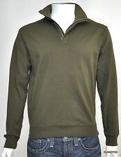 Nwt $125 Ralph Lauren POLO GOLF Turtleneck Mock Sweater Zip Pullover Olive S