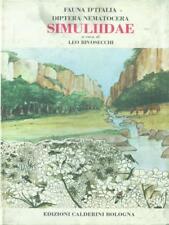 DIPTERA NEMATOCERA. SIMULIIDAE  RIVOSECCHI LEO CALDERINI 1978 FAUNA D'ITALIA