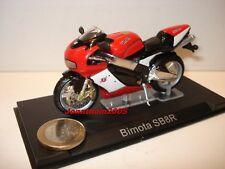 MOTO BIMOTA SB8R ROUGE ET BLANCHE au 1/24°