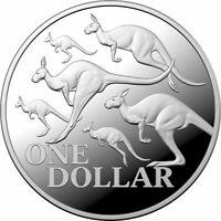 2020 $1 Kangaroo Series - Red Kangaroo 1oz .999 Silver Proof Coin - RAM