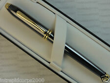 CROSS Made in the USA Townsend Titanium & 23K Gold RollerBall Pen
