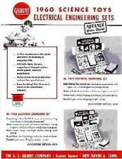 Gilbert 1960 Science Toys Electrical Sets D2185 Flyer