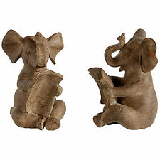 """Elephant Bookend 4.5""""x4""""x6"""" Pair - 73636"""