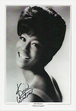 KIM WESTON Signed 12x8 Photo Print MOTOWN Legend IT TAKES TWO COA