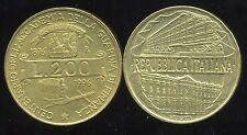 ITALIE   ITALY  200 lire centenario dell accademia   1996