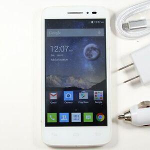 Alcatel Pop Astro (T-Mobile) 5042T Smartphone 4G LTE White ⚡ Fast Shipping! ⚡