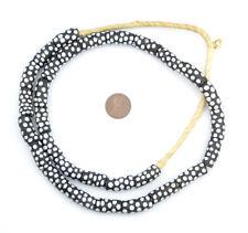 African Skunk Elbow Krobo Powder Glass Beads Ghana