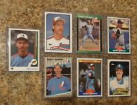 (7) Randy Johnson 1989 Upper Deck Donruss Score Fleer Topps Rookie card lot RC