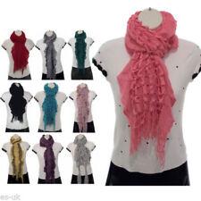 Ruffle Scarves & Wraps for Women