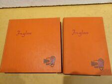 INGLESE CON PROGRESSA Con 12 dischi vinile Lilo Weidner Transworldia 1962 da per