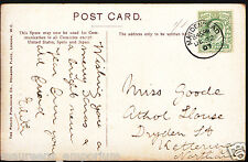Genealogy Postcard - Family History - Goode - Dryden Street, Kettering  C1000