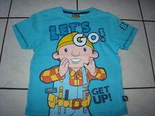 BOB der BAUMEISTER TShirt 122 Shirt Sommer kurzarm Jungen blau kaum getragen