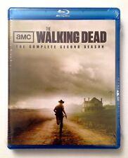 WALKING DEAD: Complete Second Season - NEW SEALED 4-DISC BLU-RAY SET!!