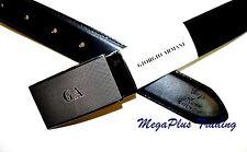 Authentic Giorgio Armani Calf Leather Belt Black (GA4201) 26-44 inch